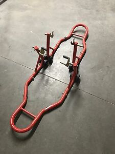 Motorcycle Sport Bike Stands - Red