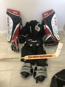 Men's Senior Goalie Gear