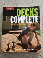 Deck Building and Design book