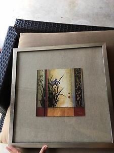 Silver photos frames from west elm