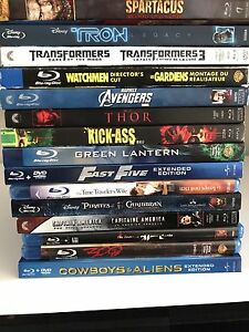 Various Blu Rays - 2 for $10