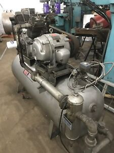 COMPRESSEUR 2 CYLINDRES 15 HP 120 GALLONS