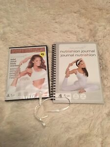 Trish Stratus Exercise DVD & Nutrition Journal - New