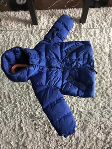 Moncler toddler snow suit and jacket