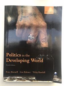Politics in the Developing World Cottesloe Cottesloe Area Preview