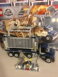 LEGO Jurassic World T-Rex Transport