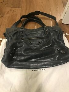 2011 Dark Night Balenciaga City RH with free leather cleaner