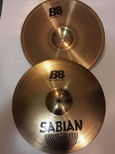 Sabian B8 Hi-Hat cymbals