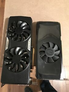 2 graphic card for sale