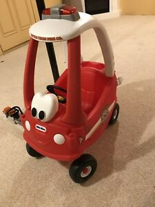 Cozy Coupe Fire