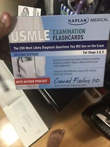 USMLE Step 2/3 flash cards