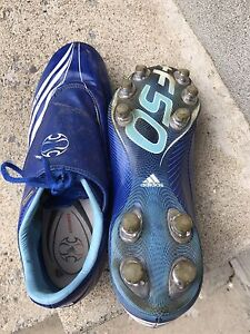 Adidas F-50 soccer shoes