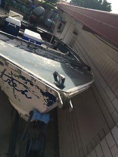 aluminium boat with mecury 30 hp