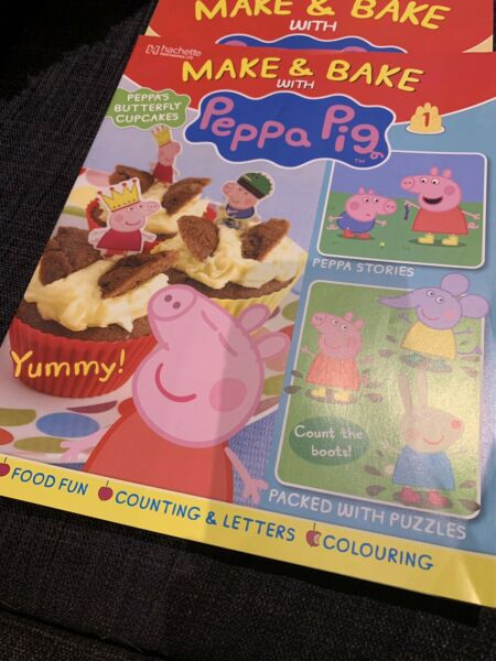 New Peppa Pig Magazines Recipes Stories Cartoons Poster Childrens