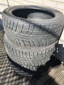 3 winter tires 225/45r17