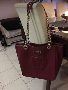 Authentic Valentino leather handbag Arncliffe Rockdale Area Preview