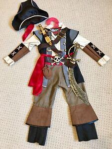 Pirate Halloween Costume 3-4yrs New