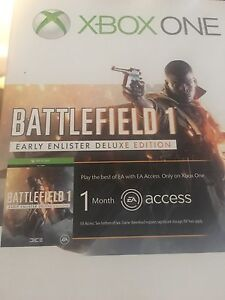Xbox One | 1TB - Special Edition Battlefield 1 Ramsgate Rockdale Area Preview