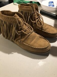Forever 21 moccasins purchased in niagara falls