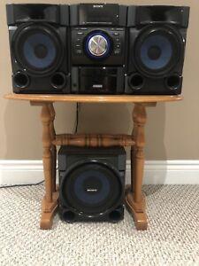 Sony Raido speaker system