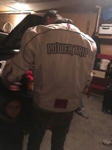 Power-trip bike jacket