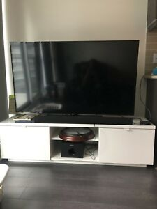 White IKEA TV Stand for sale