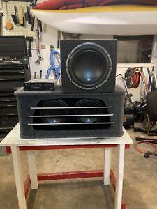 JL Audio Subwoofers and Amp