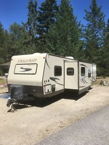 2014 Flagstaff superlite 29IKTS travel trailer