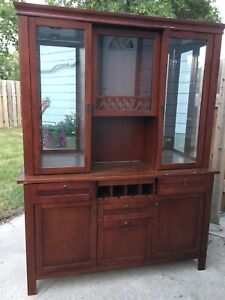 Cabinet and hutch - make offer!