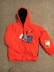 Blaze orange youth hunting jacket
