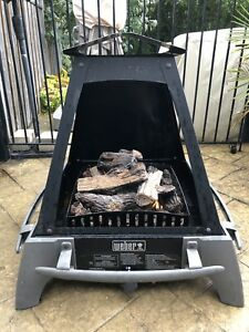 Weber Flame Outdoor Propane Fireplace
