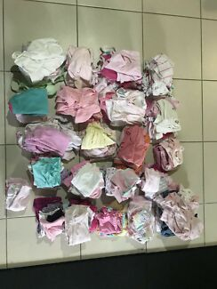 Baby girl clothes bundle 140+ items