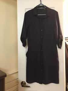 Beautiful shirt dress - perfect for office or holiday party