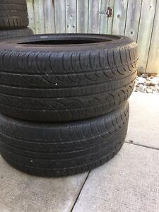 2 Pirelli P Zero Nero all season tires 245/45/19 $200