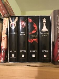 All 4 twilight books, great condition