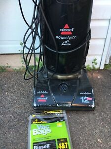 Bissell Vacuum with bags works great $20