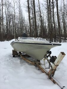 1970s or 1980s boat with 1990s 125hp engine