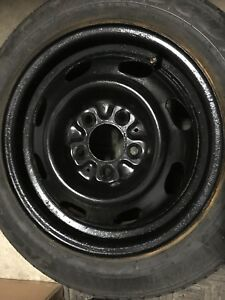 2x rims with 5 holes for Mazda