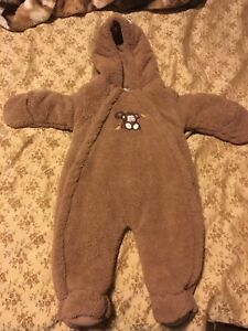 Baby snow suit 3-6 months