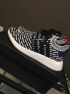 NMD R2 Primeknit size 9 deadstock TRADES