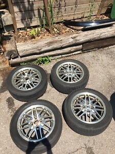 4x100 15 inch Integra Rims