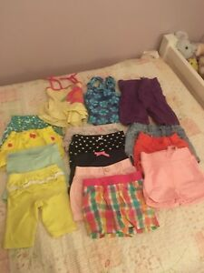 Baby girl's summer lot
