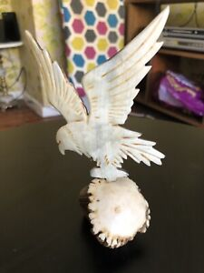 Hand Carved Eagle Paper Weight Wentworthville Parramatta Area Preview