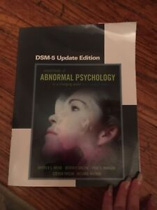 Abnormal Psychology Text Mohawk/McMaster