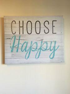 Choose Happy Canvas