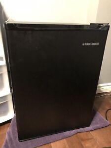 Black and Decker mini fridge