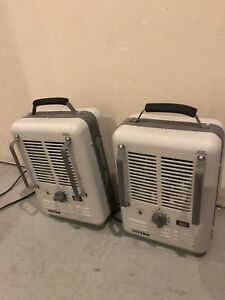 2 x Patton 1500 watt utility space heaters