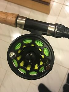 Fly fishing rod/reel