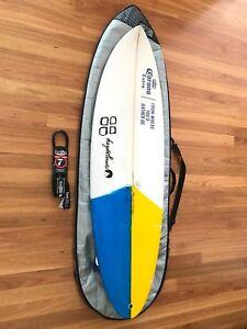 "One of a kind: 5'10"" Corona Promo Surfboard"