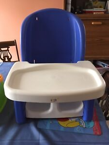 Offer: infant/toddler mini high chair and potty chair.